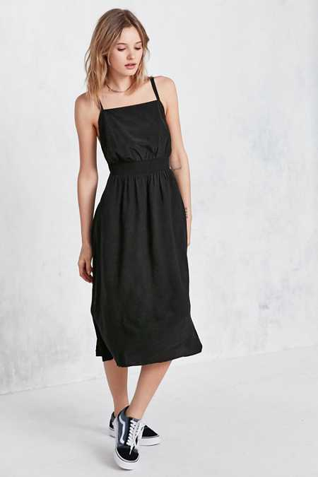 Black dress urban outfitters atlantic ave