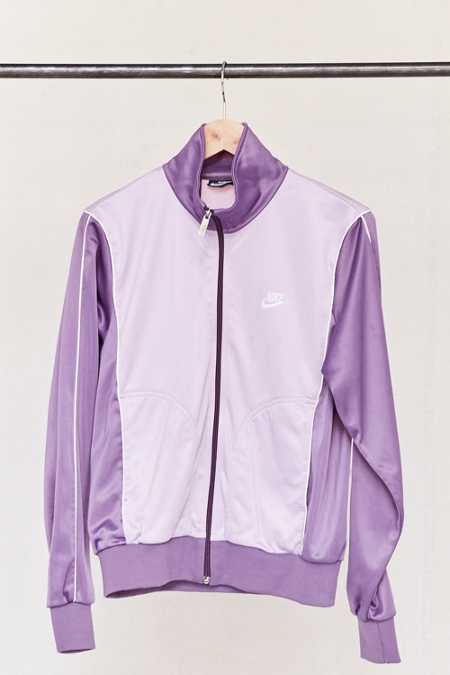 Vintage Nike Purple Track Jacket