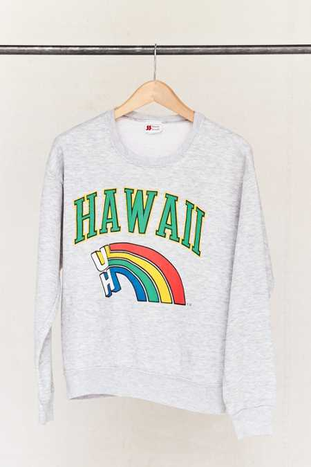 Vintage Hawaii Rainbow Warriors Sweatshirt
