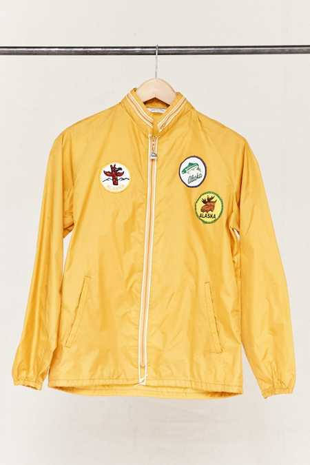Vintage Alaska Patch Windbreaker Jacket