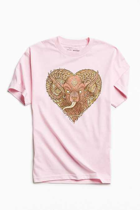 UO Artist Editions Florian Bertmer Demon Heart Tee