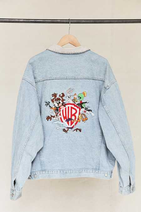 Vintage Warner Bros. Denim Jacket