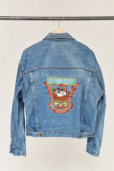 Vintage Taz Denim Jacket