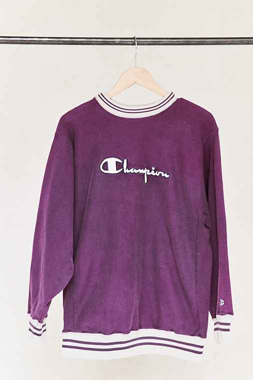 Vintage Champion Purple Sweatshirt,ASSORTED,ONE SIZE
