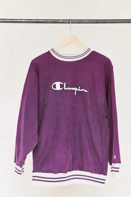 Vintage Champion Purple Sweatshirt