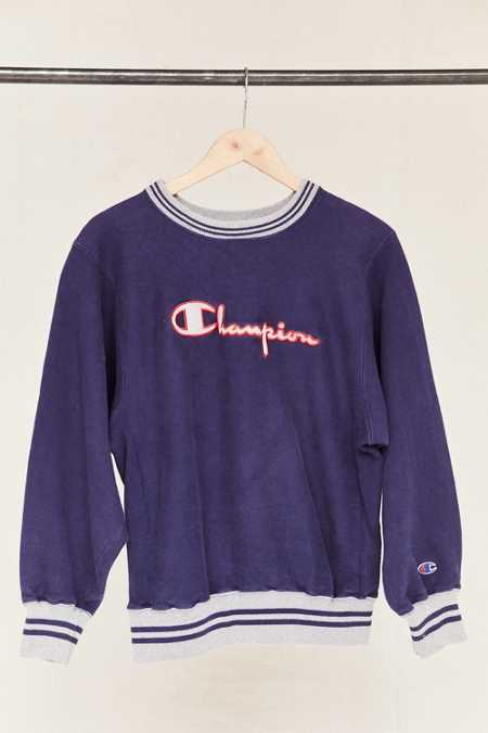 Vintage Champion Navy Sweatshirt