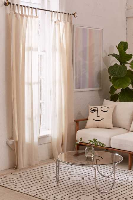 Lucia Gauze Window Curtain