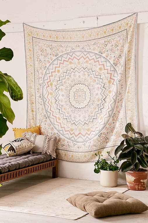 Zelda Medallion Tapestry,BLUE MULTI,ONE SIZE