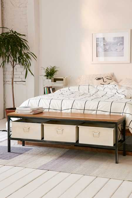 Fallon Storage Bench
