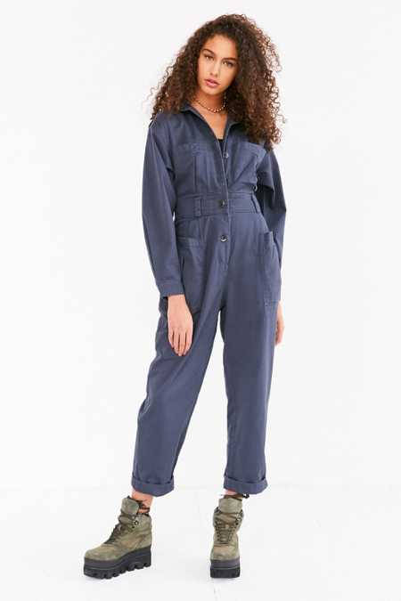 BDG '80s High-Waist Coverall Jumpsuit
