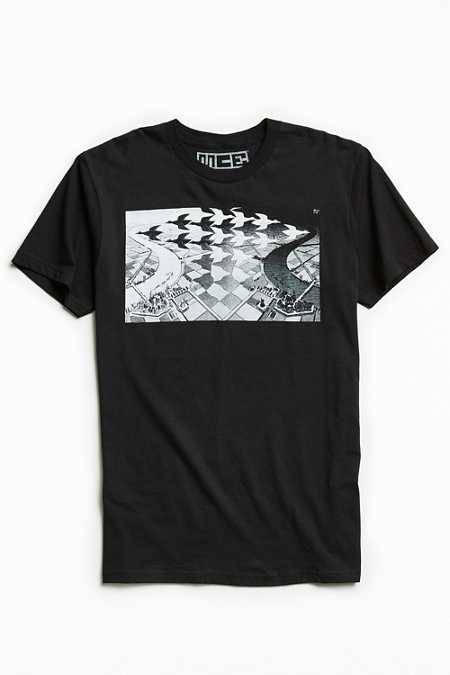 M. C. Escher Day And Night Tee
