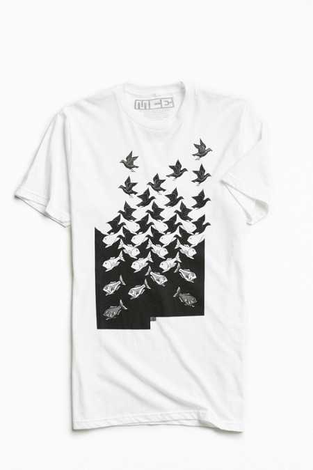 M. C. Escher Sky And Water Tee