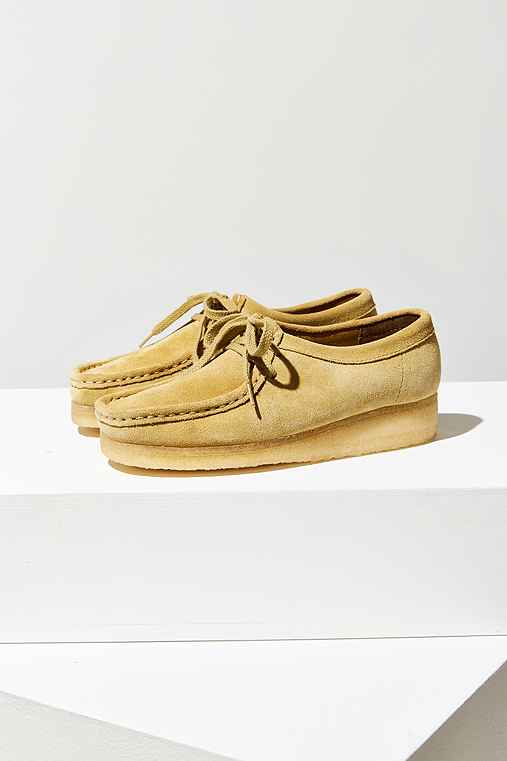 Clarks Wallabee Moccasin,TAN,9