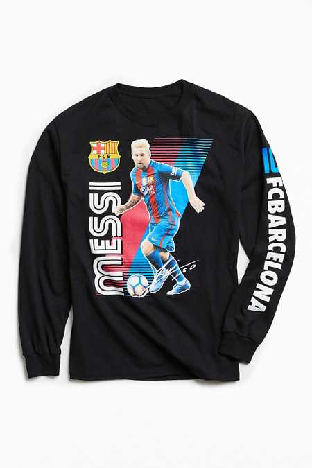 FC Barcelona Messi Long Sleeve Tee