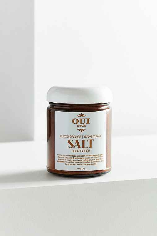 Oui Shave Blood Orange Himalayan Salt Body Scrub