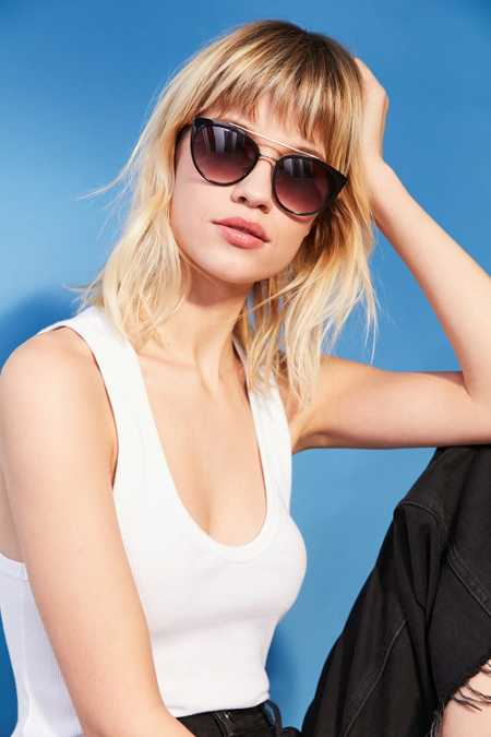 Weekend Brow Bar Cat-Eye Sunglasses