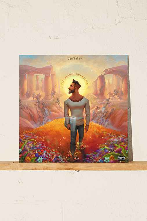 Jon Bellion - The Human Condition LP,BLACK,ONE SIZE
