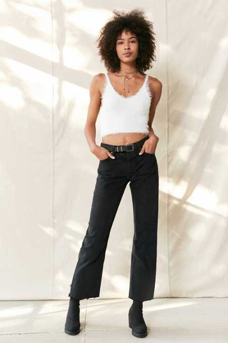 Urban Renewal Remade Levi's Long Cropped Jean