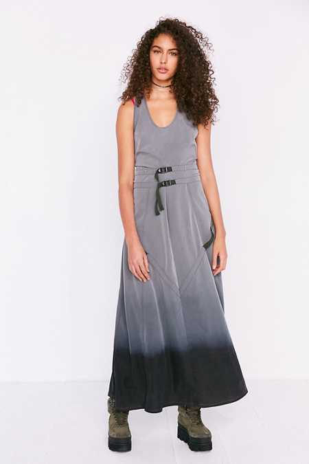 BDG Dip-Dye Parachute Maxi Dress