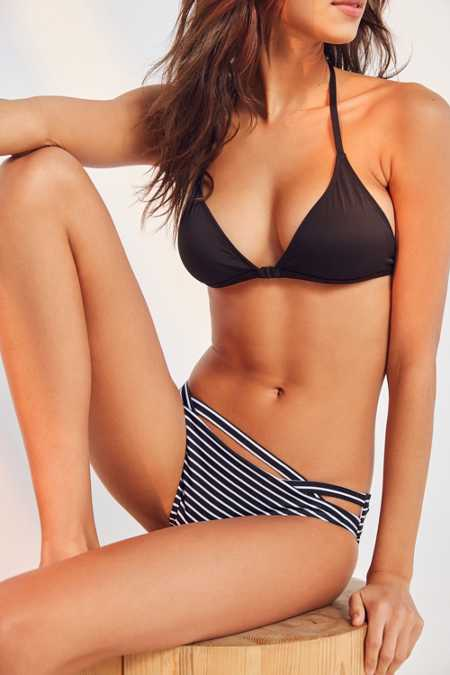 Out From Under Printed Cutout Hipster Bikini Bottom