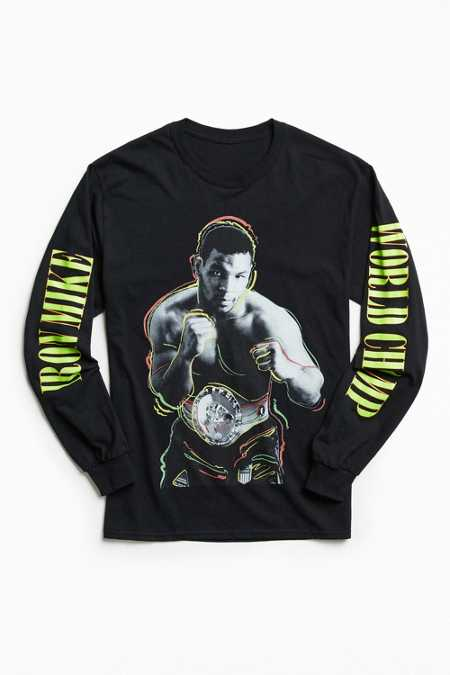 Iron Mike Tyson Long Sleeve Tee