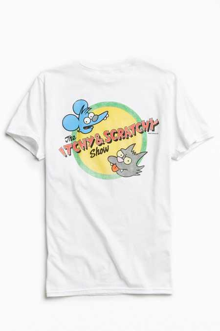 Itchy & Scratchy Show Tee