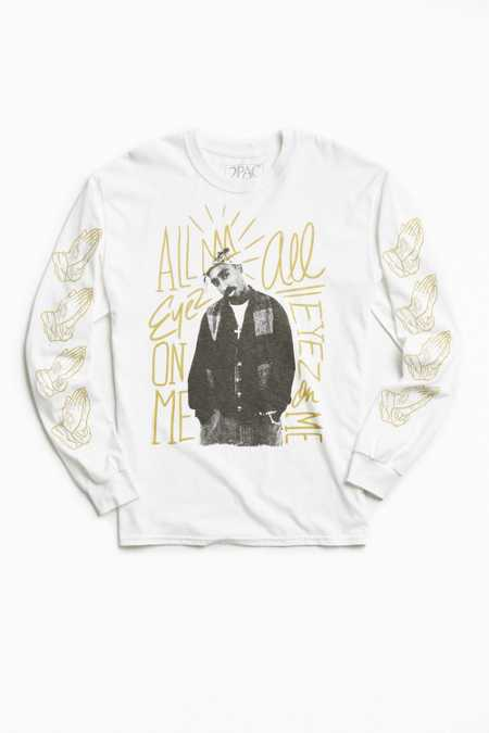 2Pac All Eyez Long Sleeve Tee