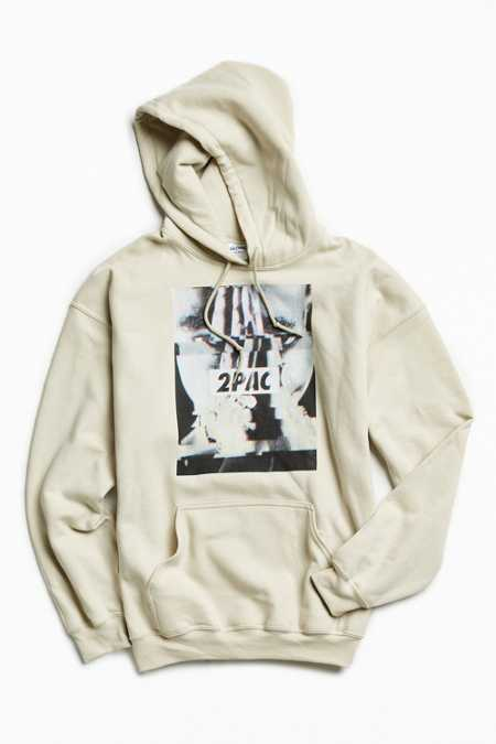 2Pac Glitch Photo Hoodie Sweatshirt