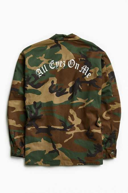 2Pac All Eyez Camo Field Jacket