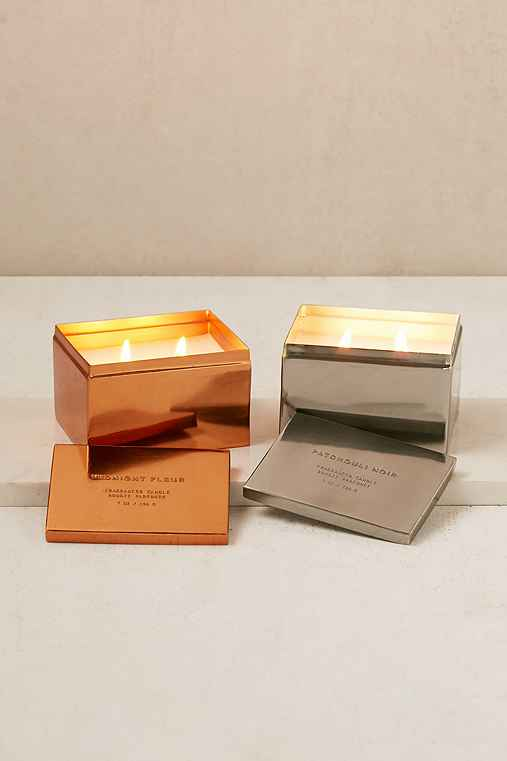 Haiku Box Candle,MIDNIGHT FLEUR,ONE SIZE