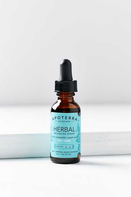 Apoterra Skincare Herbal Balancing Serum