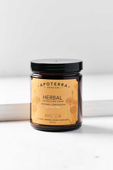 Apoterra Skincare Herbal Detoxifying Steam