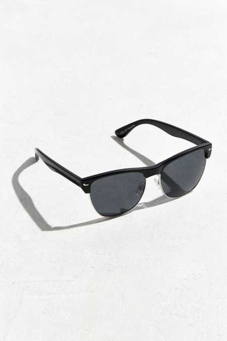 Large Half-Frame Sunglasses