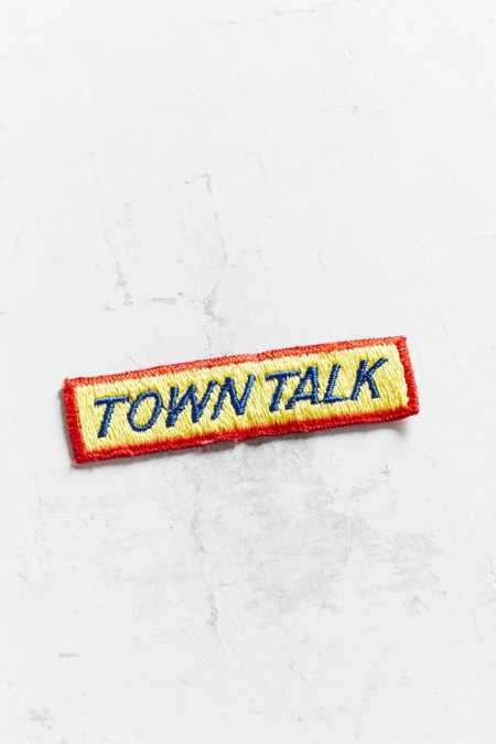 Vintage Town Talk Patch