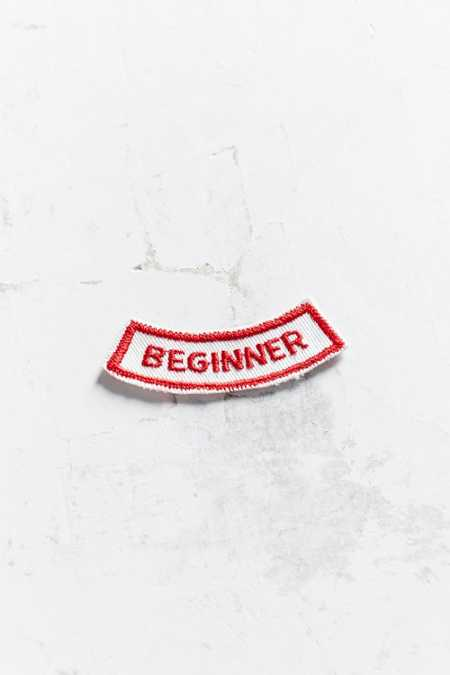 Vintage Beginner Patch