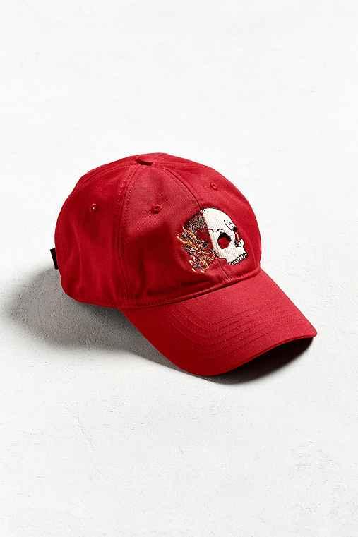 Split Icon Baseball Hat,MAROON,ONE SIZE