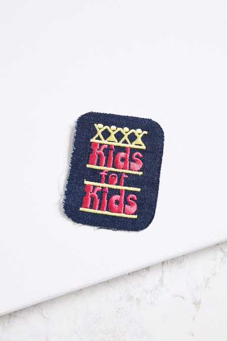 Vintage Kids For Kids Patch