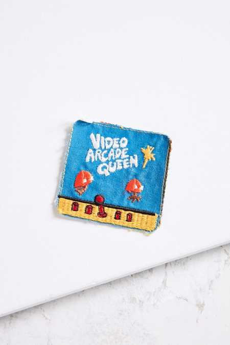 Vintage Video Arcade Queen Patch