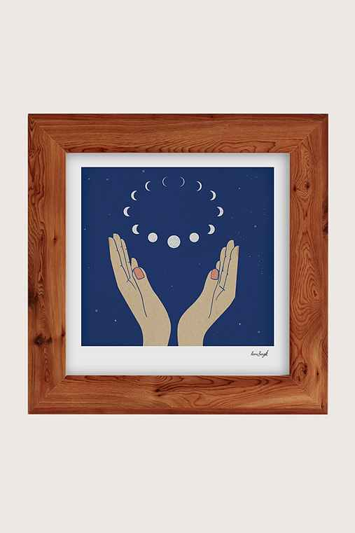 Hanna Barczyk The Moons Art Print,CEDAR,44X44
