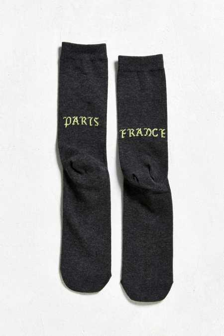 Paris Crew Sock