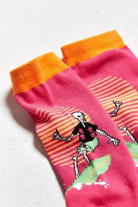Surf Skeleton Crew Sock