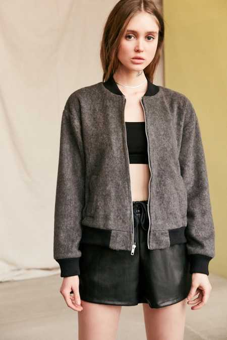 Urban Renewal Remade Cozy Bomber Jacket