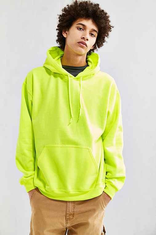 Walton Hoodie Sweatshirt,YELLOW,L