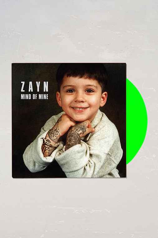 Zayn Mind Of Mine Lp Urban Outfitters