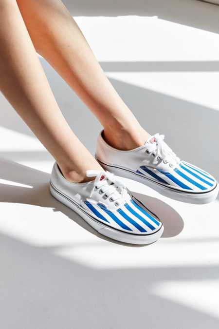 Vans & UO Striped Authentic Sneaker