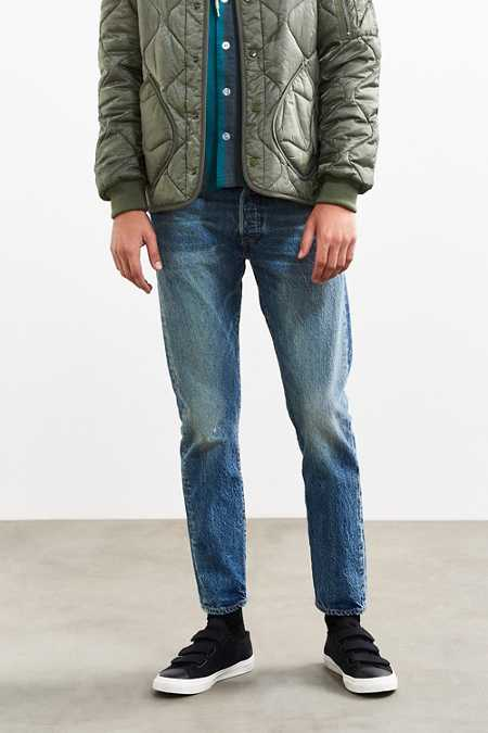 Levi's 501 Custom Tapered Rosebowl Jean