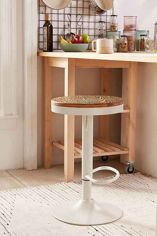 Dakota Adjustable Bar Stool Urban Outfitters