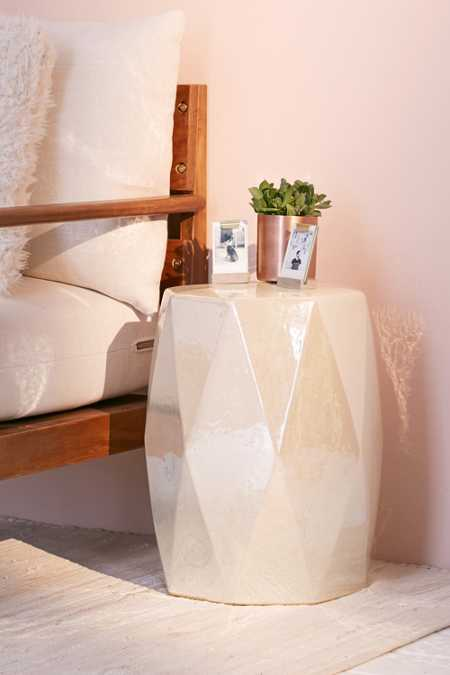 Kinsley Iridescent Side Table