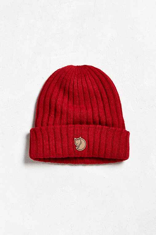 Fjallraven Byron Beanie,RED,ONE SIZE