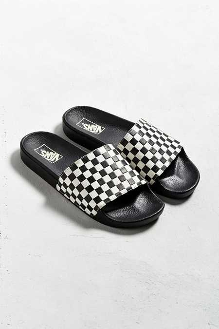Vans Checkerboard Slide Sandal